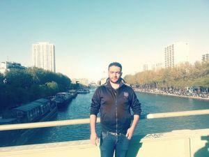 Sami ALDECK sur le Bassin de La Villette